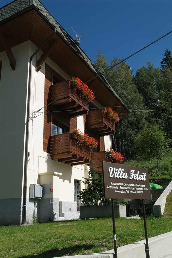 Esterno Villa Feleit